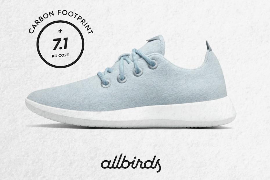 Allbirds carbon eco-label