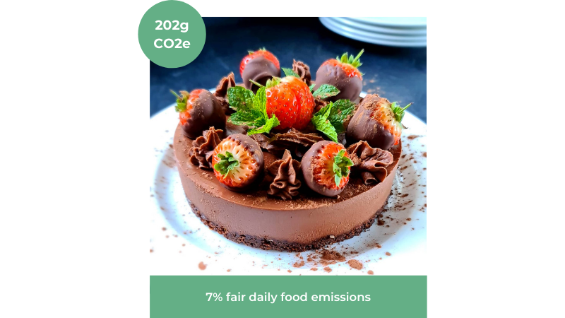 Image of Easy Chocolate Cheesecake recipe from Aaron Calder Vegan