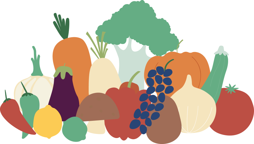 Image of fruits and vegetables