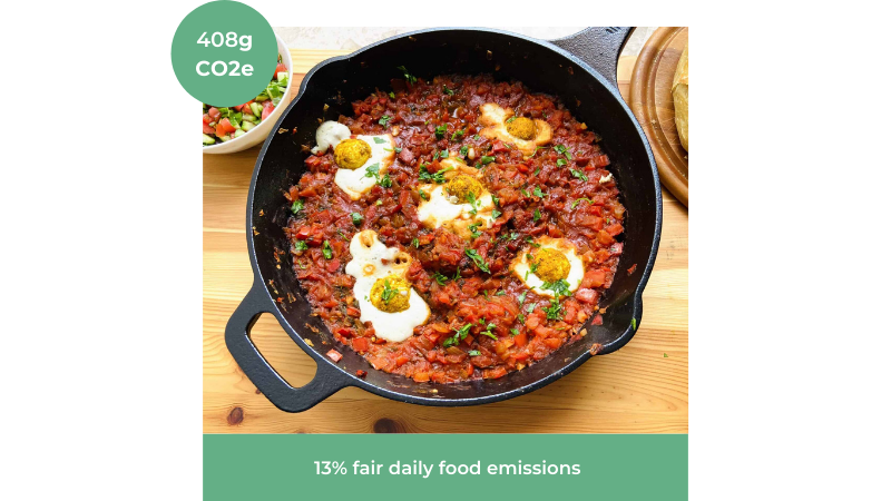 Image of Vegan Shakshuka recipe from Yum Vegan Food