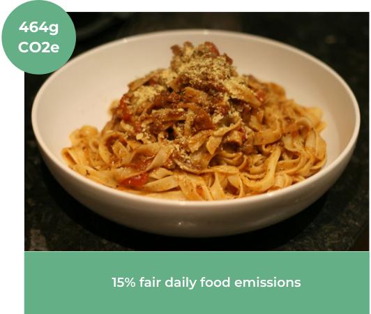 Image of vegan Mushroom Bolognese Recipe from Tea, Cake & Make