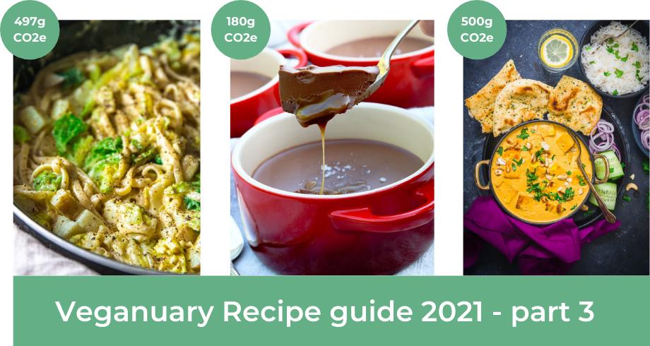 Veganuary recipe guide 2021 part 3
